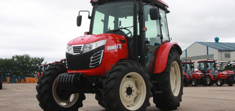 Branson traktoren